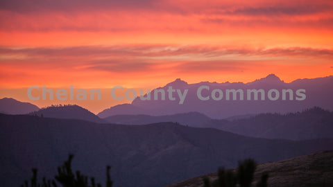 Orange Wenatchee Sunrise