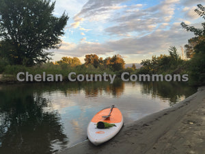 Paddle Boarding Confluence Park , JPG Image Download - Travis Knoop, Chelan County Commons