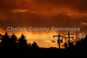 Powerlines @ Sunrise , JPG Image Download - Jared Eygabroad, Chelan County Commons