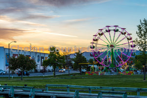 Dusky Ferris Wheel , JPG Image Download - Brian Mitchell, Chelan County Commons
