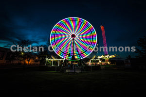 Rainbow Wheel , JPG Image Download - Brian Mitchell, Chelan County Commons
