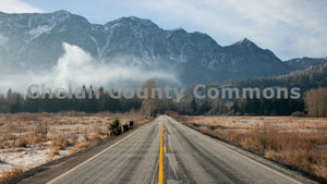 Lake Wenatchee Winter Road , JPG Image Download - Travis Knoop, Chelan County Commons
