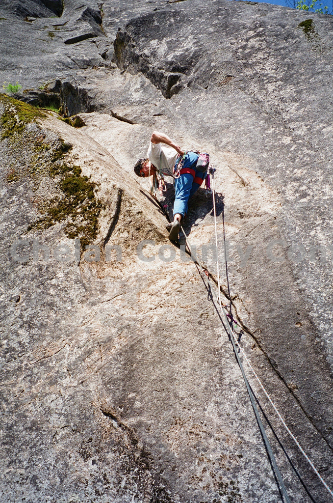 Climbing a Crack , JPG Image Download - Heidi Swoboda, Chelan County Commons