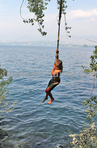 Rope Swing Boy