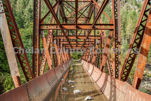 Icicle River Rusty Aqueduct , JPG Image Download - Travis Knoop, Chelan County Commons