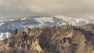 Saddle Rock Winter Scene , JPG Image Download - Travis Knoop, Chelan County Commons