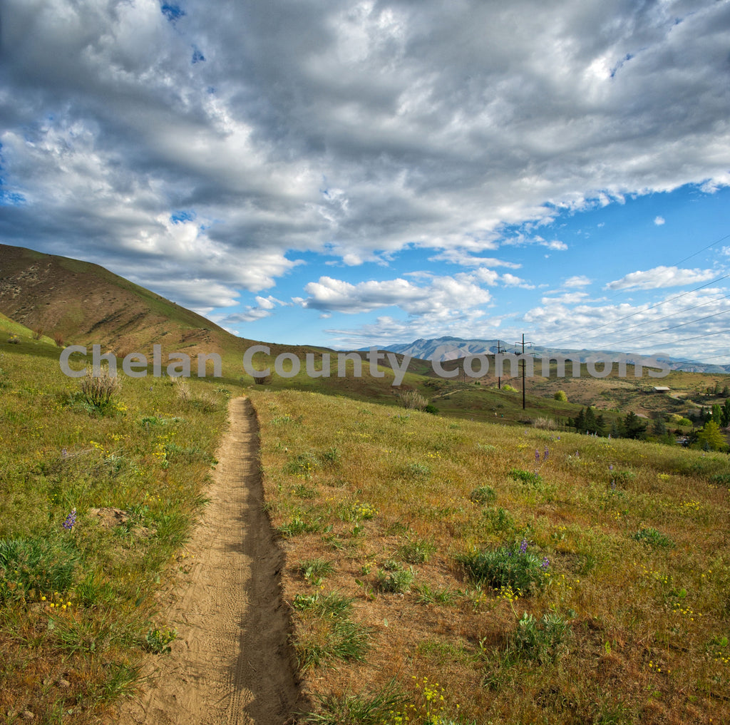 Sage Hills in the Evening , JPG Image Download - Heidi Swoboda, Chelan County Commons