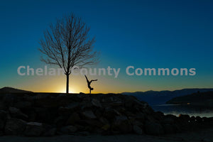 Morning Handstand , JPG Image Download - Jared Eygabroad, Chelan County Commons
