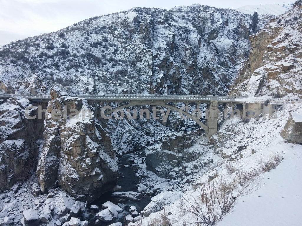Bridge Over Daybreak Canyon , JPG Image Download - Jared Eygabroad, Chelan County Commons