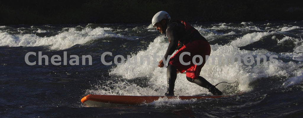 Wave Surf Paddleboard , JPG Image Download - Steve Scott, Chelan County Commons