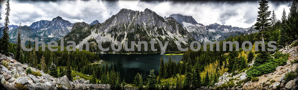 Stuart Lake Scenic , JPG Image Download - Brian Mitchell, Chelan County Commons
