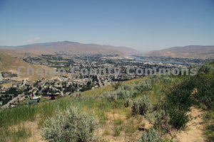 Summer Wenatchee View , JPG Image Download - Keith Mickelson, Chelan County Commons