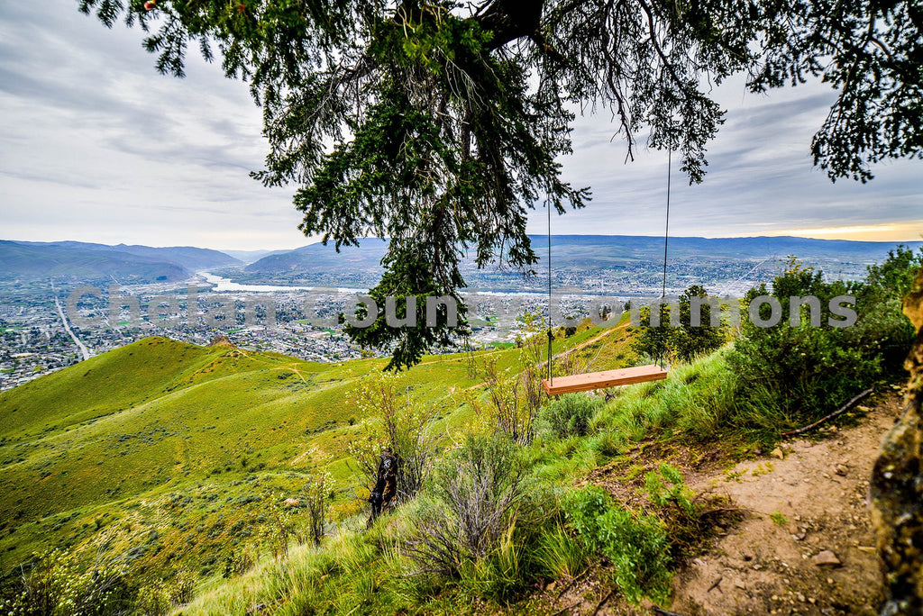 Above Wenatchee Swing , JPG Image Download - Brian Mitchell, Chelan County Commons