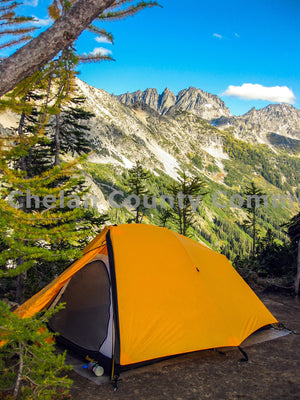 Spider Meadows Camping Tent , JPG Image Download - Travis Knoop, Chelan County Commons
