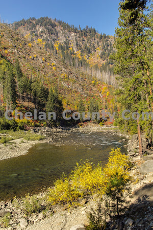Tumwater River Fall Colors , JPG Image Download - Travis Knoop, Chelan County Commons