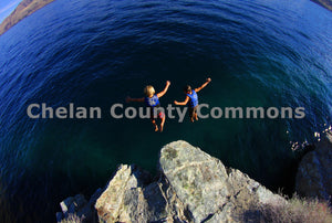 Two Boys Leap , JPG Image Download - Jared Eygabroad, Chelan County Commons