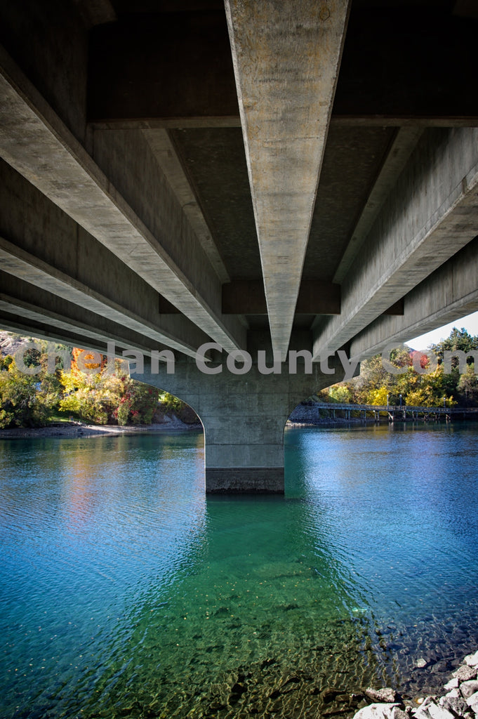 Bridge Over Wenatchee , JPG Image Download - Steve Scott, Chelan County Commons