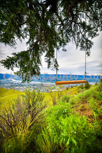 Swing Above Wenatchee , JPG Image Download - Brian Mitchell, Chelan County Commons