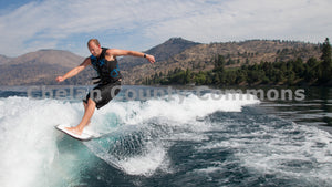 Wake Surfing On Lake Chelan , JPG Image Download - Travis Knoop, Chelan County Commons