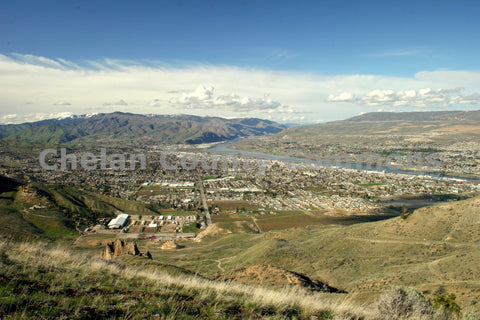 Wenatchee Looking North