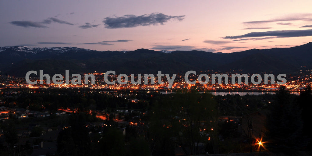 Wenatchee Lights , JPG Image Download - Travis Knoop, Chelan County Commons