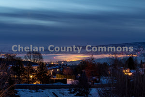 Winter Cloudy Glow , JPG Image Download - Travis Knoop, Chelan County Commons