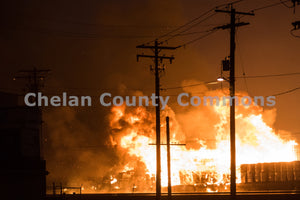 Wenatchee Warehouse Fire , JPG Image Download - Rob Spradlin, Chelan County Commons