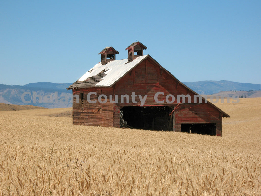 An Old Waterville Barn , JPG Image Download - Keith Mickelson, Chelan County Commons