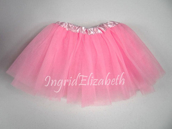 Pink INFANT Ballerina Tutu / FAST Shipping / Child Toddler Costume, Birthday Tutus, Dress Up tutus, Dance tutu, Princess tutu