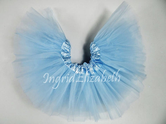 Light  Blue TODDLER Ballerina SHORT Tutu / FAST Shipping / Child Toddler Costume, Birthday Tutus, Dress Up tutus, Dance tutu, Princess tutu