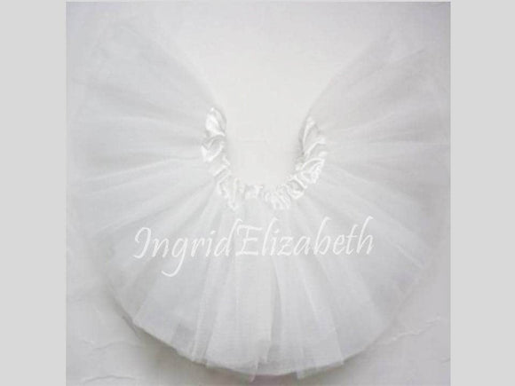 White INFANT Ballerina Tutu / FAST Shipping / Child Toddler Costume, Birthday Tutus, Dress Up tutus, Dance tutu, Princess tutu
