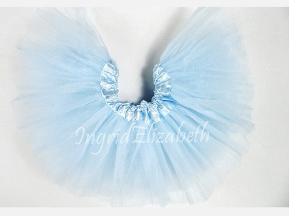 Light Blue INFANT Ballerina Tutu / FAST Shipping / Child Toddler Costume, Birthday Tutus, Dress Up tutus, Dance tutu, Princess tutu