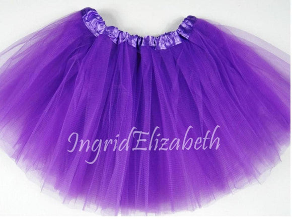 Lilac Purple Tutu ... Teen Adult 4-Layer