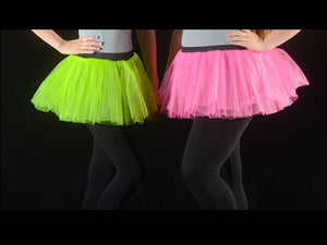 Hot Pink or Lime Color Run Tutu / Adult Run
