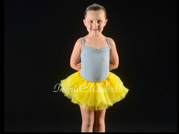 Neon Blue TODDLER Ballerina SHORT Tutu / FAST Shipping / Child Toddler Costume, Birthday Tutus, Dress Up tutus, Dance tutu, Princess tutu