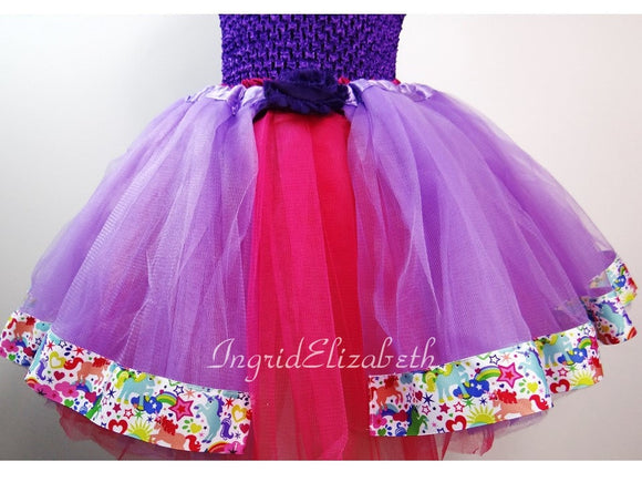 Unicorn tutu, Unicorn costume, Unicorn skirt, purple tutu, purple tulle tutu, girls costume, adult costume, Halloween tutu, Halloween outfit
