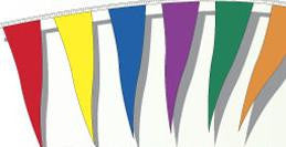 Spectrum 105' Wind Beater Pennant - Northland's Dealer Supply Store