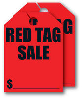 """Red Tag Sale"" Car Hang Tags - Northland's Dealer Supply Store"