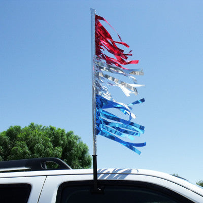 Clip-On Pole for Antenna Pennants