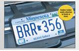 Rubber License Plate Holder - Northland's Dealer Supply Store
