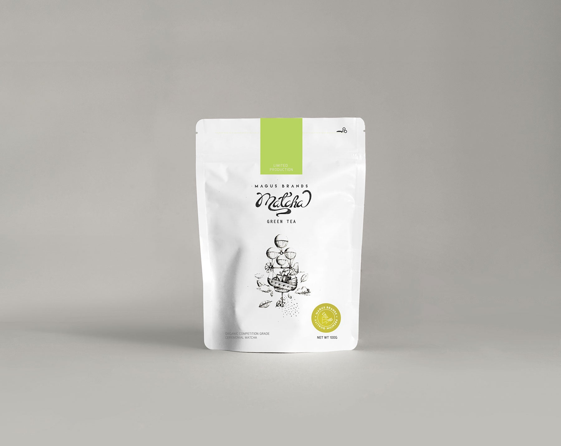 Magus Brands™ Organic Ceremonial Matcha 100g