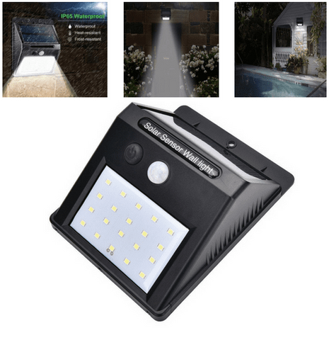 Waterproof LED Solar Lights