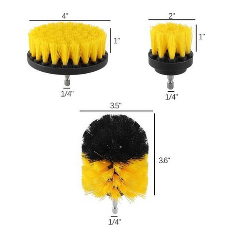 Image of Power Scrubber Drill Brush Kit