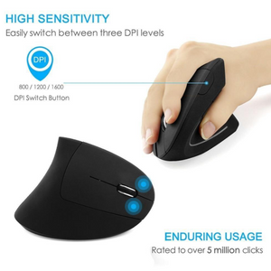 #1 Vertical Mouse - Ergonomic Vertical Mouse