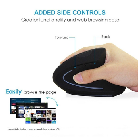 Image of #1 Vertical Mouse - Ergonomic Vertical Mouse