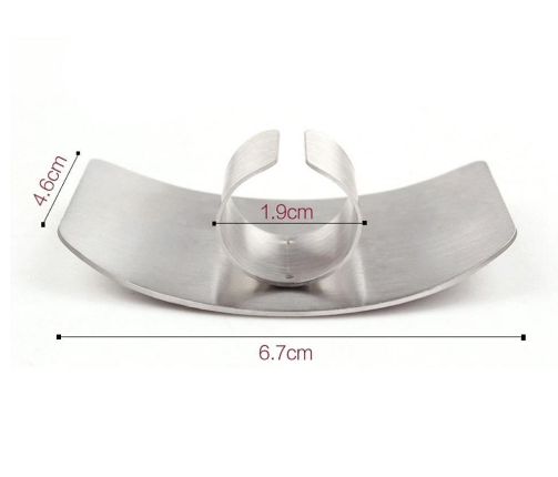Stainless Steel Finger Guard for Cutting