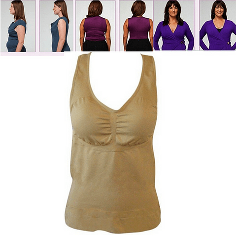 Image of Women's Magic Slimming Undershirt - Slims down instantly in any outfit