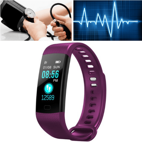 Portable Blood Pressure Monitor - Digital Wrist Blood Pressure Monitor