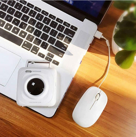 Image of Mini Portable Wireless Phone Photo Printer