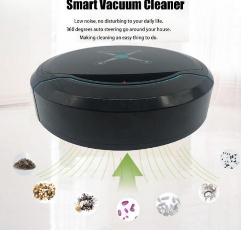 Image of Robotic Vacuum – Auto Robot Cleaner